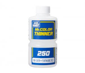 ทินเนอร์ MR COLOR THINNER 250ML