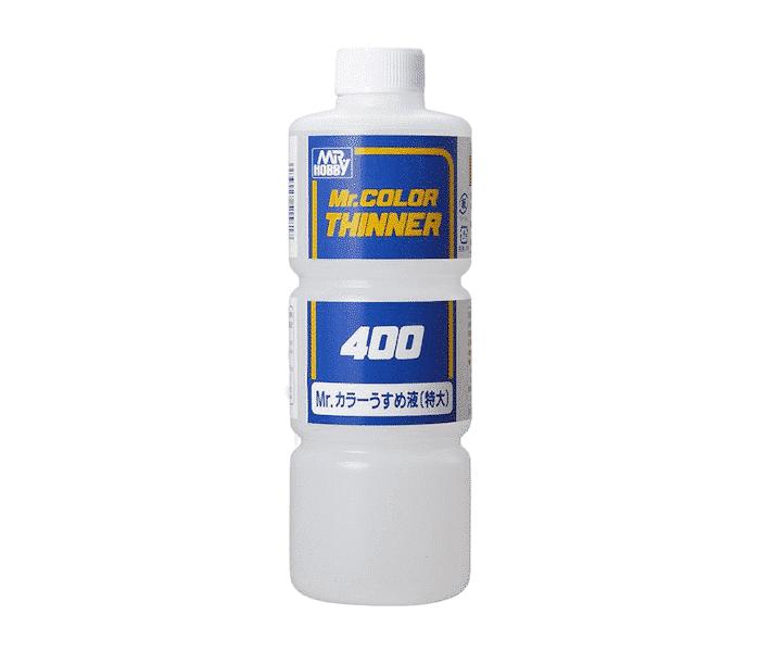 ทินเนอร์ละลายสี MR THINNER 400ml (สูตรแห้งเร็ว)