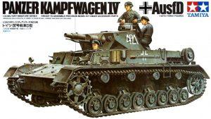 โมเดลรถถังขนาดกลางทามิย่า Panzerkampfwagen Mk.IV Ausf.D 1/35