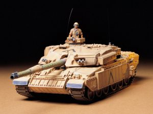 โมเดลรถถังทามิย่ารถถังอังกฤษ British MBT Challenger 1 Mk.3 1/35