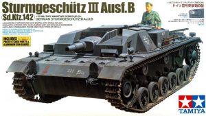 โมเดลรถถังยิงสนับสนุนสตุ๊ก Sturmgeschutz III Ausf.B 1/35