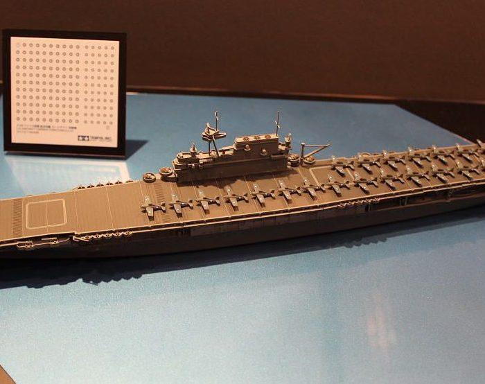 โมเดลเรือบรรทุกเครื่องบินยอร์กทาวน์ CV-10 Yorktown 1/700