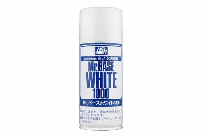 สีรองพื้น MR BASE WHITE 1000 SPRAY
