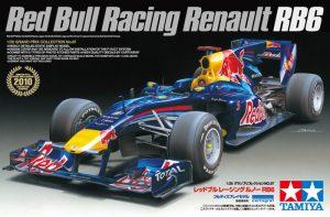 โมเดลรถแข่งฟอร์มูล่าวัน กระทิงแดง Red Bull Racing Renault RB6 1/20