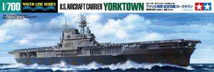โมเดลเรือบรรทุกเครื่องบินทามิย่า US Aircraft Carrier Yorktown CV-5 1 : 700