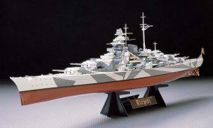 โมเดลเรือประจัญบาน Tirpitz ของเยอรมัน 1/350