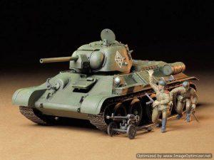 โมเดลรถถังขนาดกลาง T34/76 ChTZ Version 1943 1/35