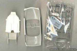 โมเดลประกอบรถยนต์ Gunze Volkswage Karmann Ghia 1 : 24
