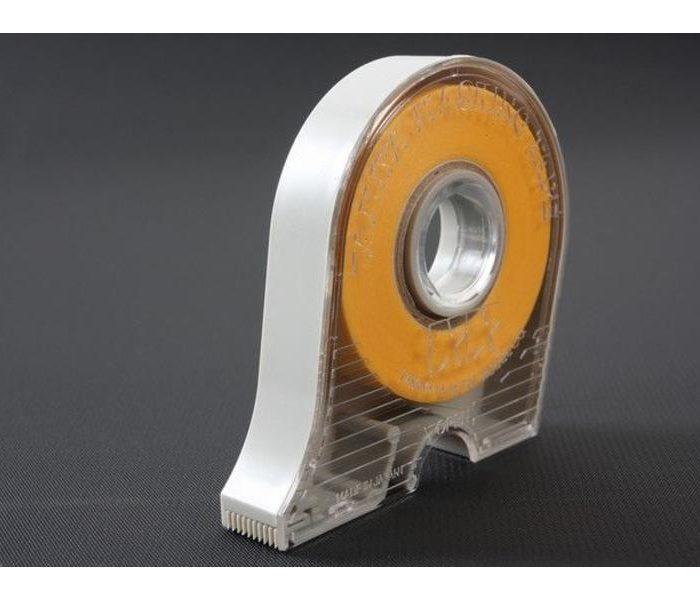 เทปบังพ่นสี Masking Tape 10mm (มีตลับตัด)