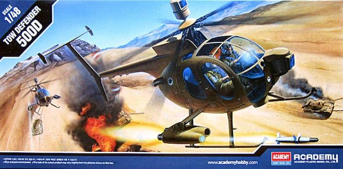 เฮลิคอปเตอร์ ACADEMY 12250 TOW HELICOPTER 1/48