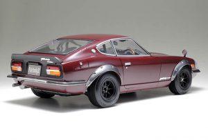 โมเดลรถยนต์ดัสสันทามิย่า Nissan Fairlady 240ZG Street Custom 1/12