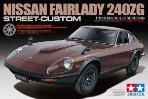 จำหน่าย โมเดลรถยนต์ ดัสสันทามิย่า Nissan Fairlady 240ZG Street Custom 1/12