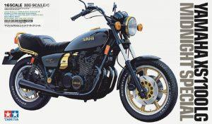 โมเดลมอเตอร์ไซค์ทามิย่า Yamaha XS1100LG midnight 1/6