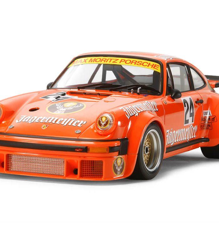 โมเดลประกอบรถพอร์ช Porsche Turbo RSR 934 Jagermeister 1/24
