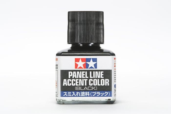 น้ำยาตัดเส้น Panel Line Accent Color Black