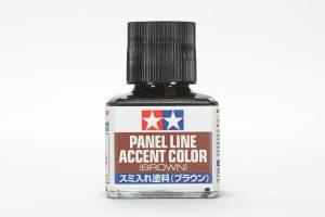 น้ำยาตัดเส้น Panel Line Accent Color Brown