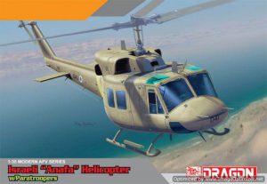 โมเดลเฮลิคอปเตอร์ฮิวอี้ไทย IAF UH-1N with Paratroopers 1 : 35 ขาย