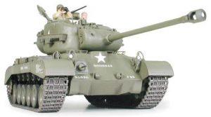 รถถังทามิย่า 35254 US Med Tank M26 Pershing