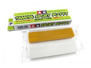 อีพ็อกซี่แห้งเร็วทามิย่า Tamiya 87051 Epoxy Putty Quick Dry