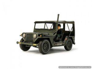 โมเดลรถจิ๊บทามิย่า U.S. M151A1 Vietnam War 1/35