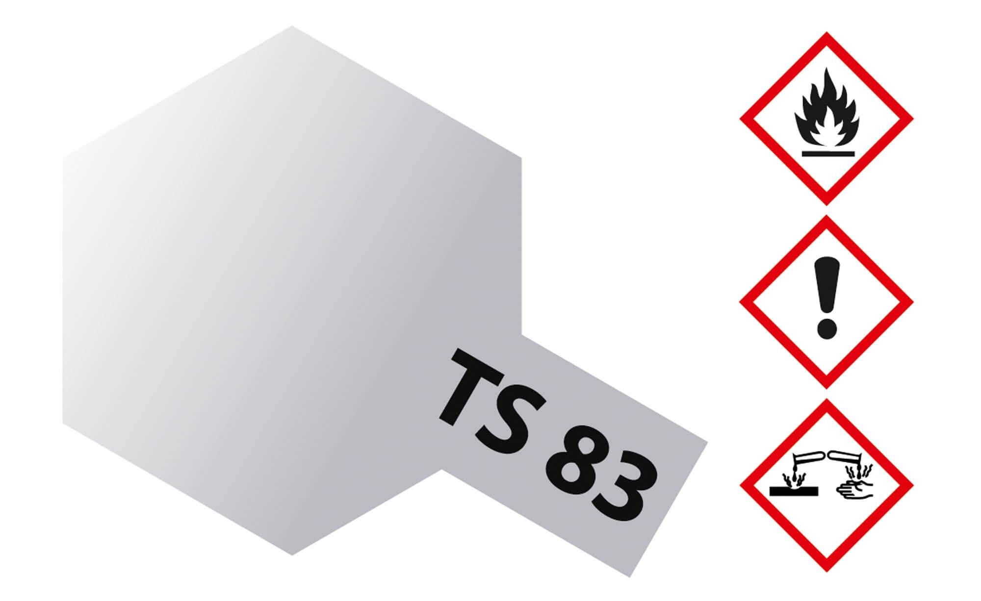 TS-83 METALLIC SILVER 100ml