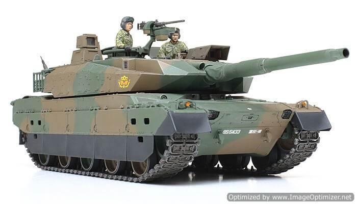 โมเดลรถถังหลัก JGSDF Type10 MBT 1/35
