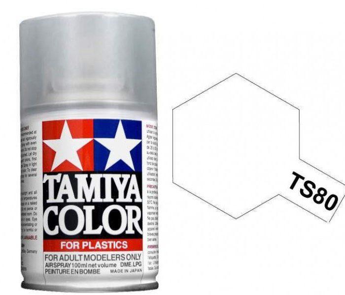 TS-80 FLAT CLEAR 100ml สีเคลือบด้านทามิย่า