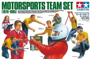 โมเดลประกอบช่างเครื่อง MOTORSPOTS TEAM SET (1970-1985) 1/20