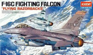 ขายโมเดลเครื่องบิน F-16C Fighting Falcon Flying Razorbacks