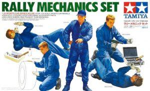 โมเดลประกอบ ช่างเครื่องทามิย่า Rally Mechanics Set 1/24