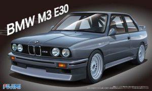 โมเดลประกอบรถยนต์ BMW M3 Type E30