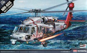 โมเดลเฮลิคอปเตอร์ไทย AC12120 MH-60S HSC-9 TRIDENTS 1/35
