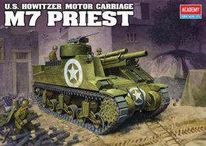 ขายโมเดลรถถัง 13210 M7 Priest Self propelled howitzer
