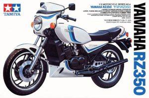 โมเดลประกอบ รถมอเตอร์ไซค์ Yamaha RZ350