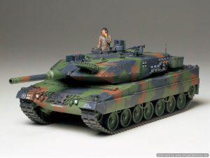 โมเดลรถถังหลักเยอรมัน Leopard 2 A5 1/35
