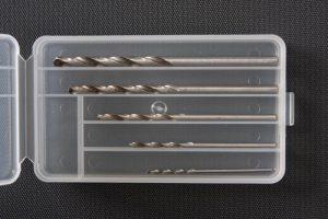 ดอกสว่านชุด ทามิย่า Basic Drill Set 1mm, 1.5mm, 2mm, 2.5mm, 3mm