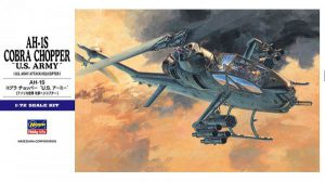 โมเดลเฮลิคอปเตอร์ Hasegawa AH-1S COBRA CHOPPER US ARMY 1 : 72 ขาย