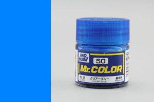 สีกันเซ่ MR COLOR C50 CLEAR BLUE