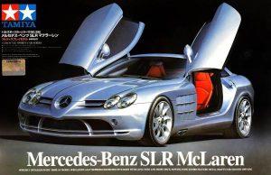 โมเดลรถยนต์ เมอซิเดส Mercedes-Benz SLR McLaren 1/24