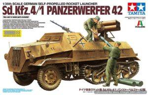 ทามิย่า 37017 Rocket Launcher SdKfz 4/1 Panzerwerfer 42