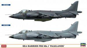 โมเดลประกอบเครื่องบิน Hasegawa Sea Harrier FRS Mk.1 1 : 72
