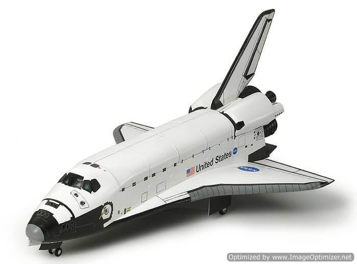 โมเดลยานกระสวยอวกาศทามิย่า SPACE SHUTTLE ATLANTIS 2 1 : 100