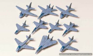 โมเดลเครื่องบินเล็ก 78006 U S Navy Aircraft