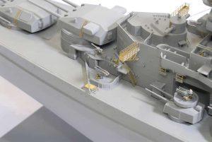 โมเดลเรือรบ German Battleship Scharnhorst 1943 (1/350)