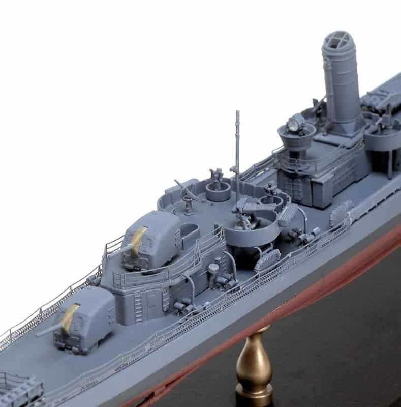 โมเดลเรือพิฆาต Dragon U.S.S. Buchanan DD-484 1/350