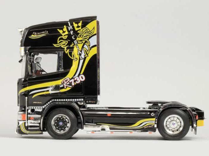 โมเดลรถบรรทุก Italeri Scania R730 V8 Topline Imperial 1/24