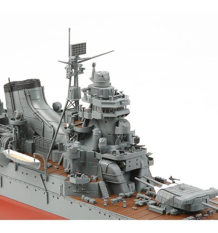 โมเดลเรือลาดตระเวณหนักญี่ปุ่น โทเน่ IJN Heavy Cruiser Tone 1/350