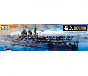 โมเดลเรือลาดตระเวน Japanese Cruiser Mogami 1/350