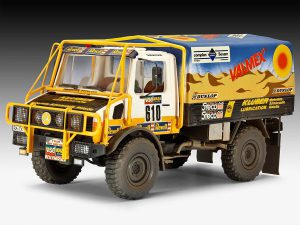 โมเดลรถบรรทุก ยูนิม็อก Revell Unimog U1300L Rallye 1/24