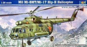 โมเดลเฮลิคอปเตอร์ Trumpeter Mil Mi-17 Hip-H 1 : 35 ขาย